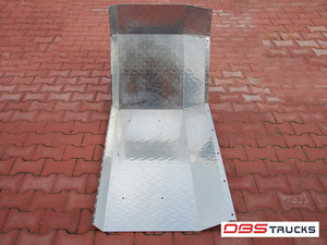 Aluminium Kotflügel Kpl. /für beide Betonmischer Seiten / - Stetter