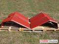 Błotnik stalowy dzielony kpl  / na dwie strony betonomieszarki / - Liebherr  - miniaturka